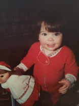 I was one adorable toddler!